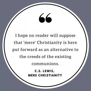 Quote from C.S. Lewis - Mere Christianity