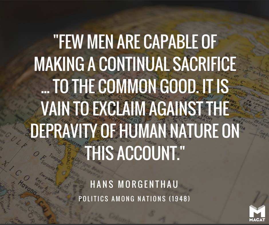 Han Morgenthau, Politics Among Nations (1948)