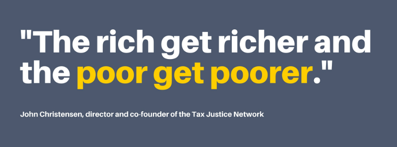 Tax havens quote