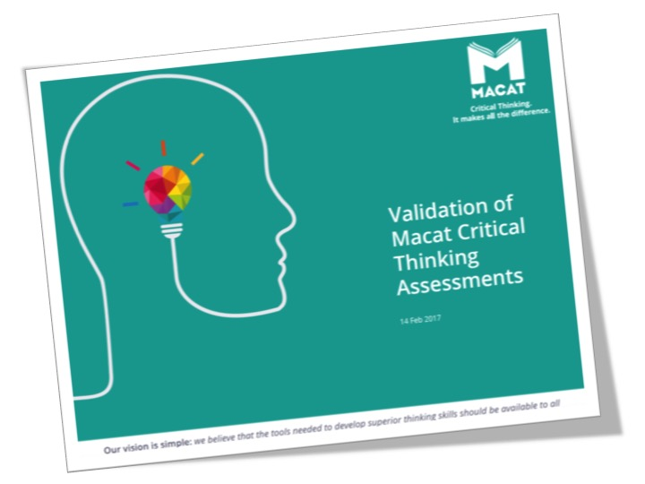 Download the brochure for more information on our validation programme -