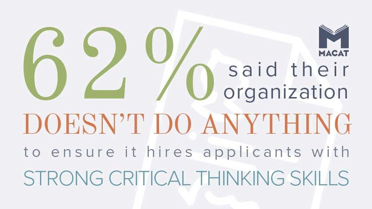 Critical thinking testing statistic for employers