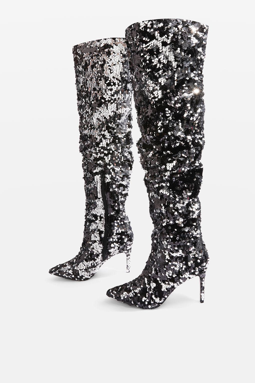 Topshop Bejewelled Boots - £89