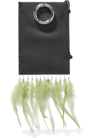 THe Row_green feather bag.jpg
