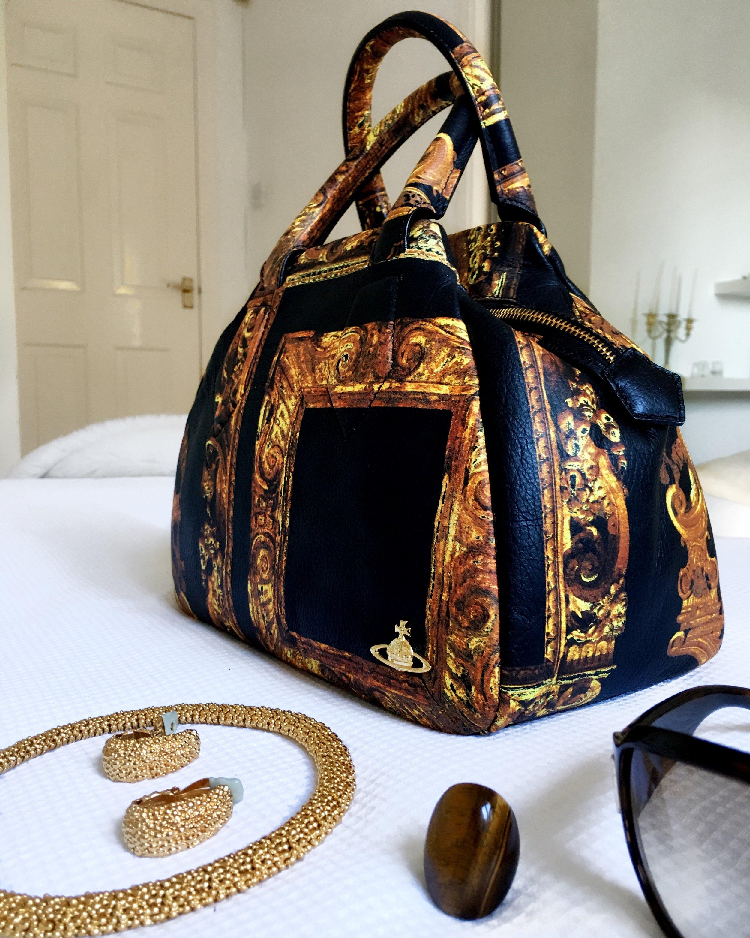 Click to shop this Vivienne Westwood handbag