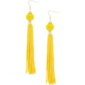 Claires_yellow tassel earrings.jpg