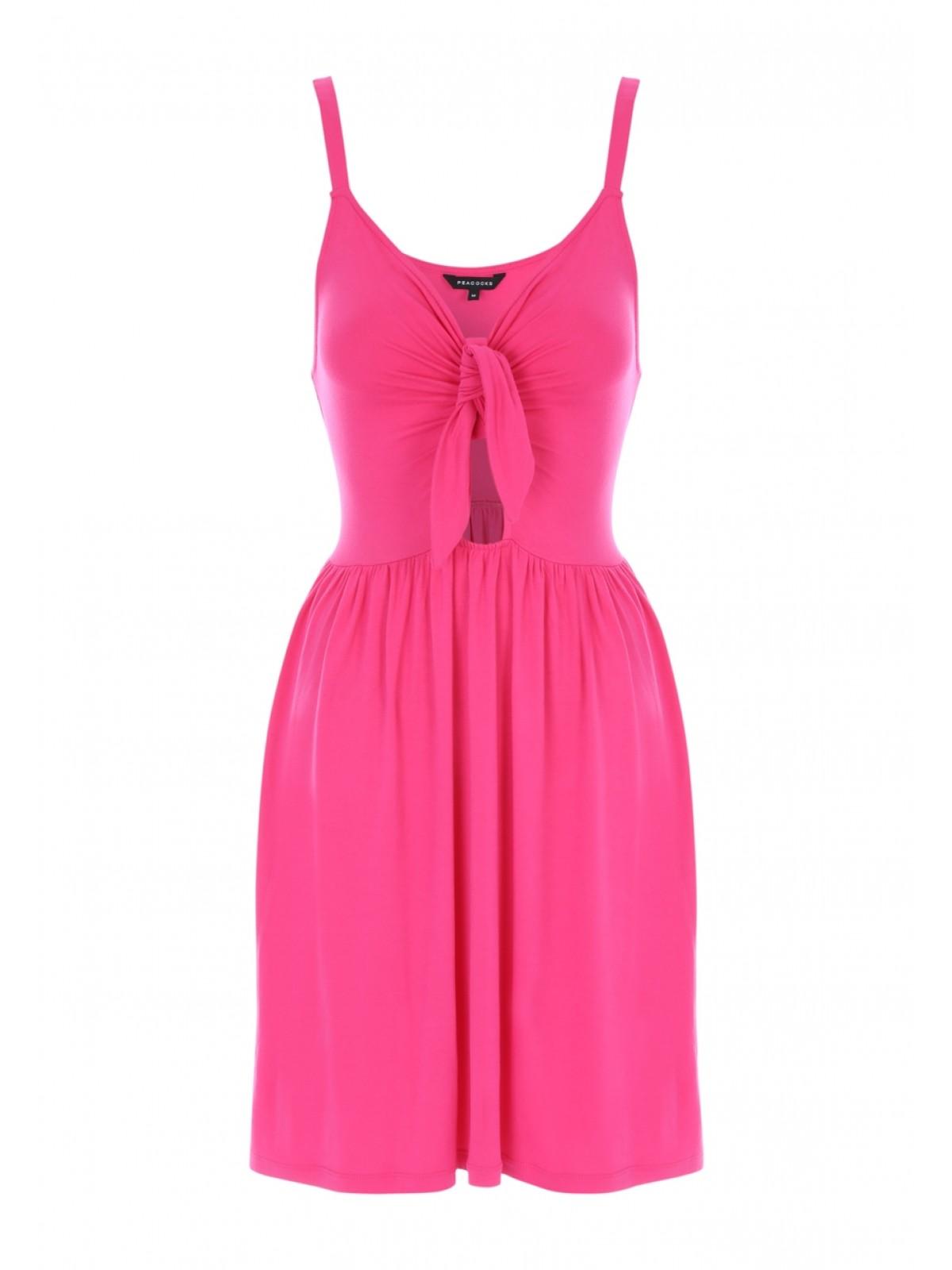 Peacocks short pink dress.jpg