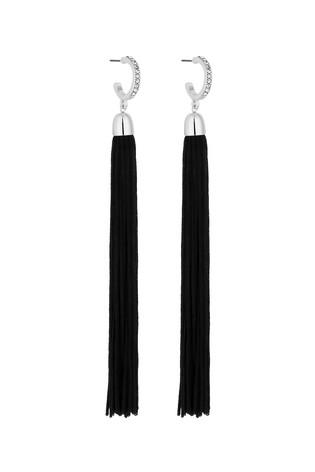 Lipsy black tassel earrings.jpg