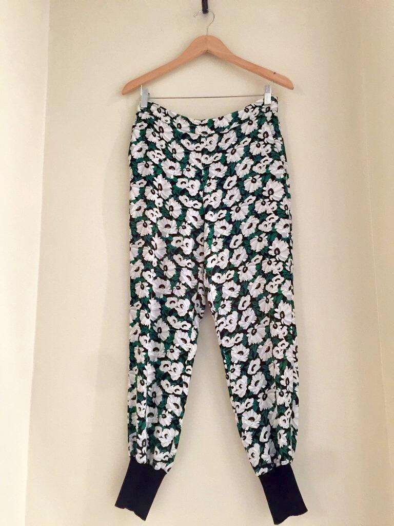 Stella McCartney Floral Joggers