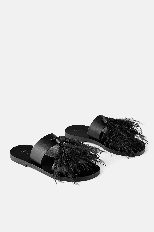 Zara Feather Flats.jpg