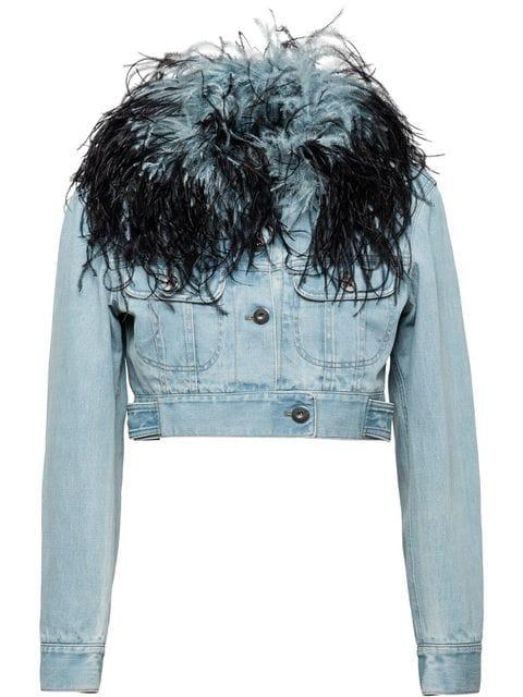 Prada Feather Denim Jacket.jpg