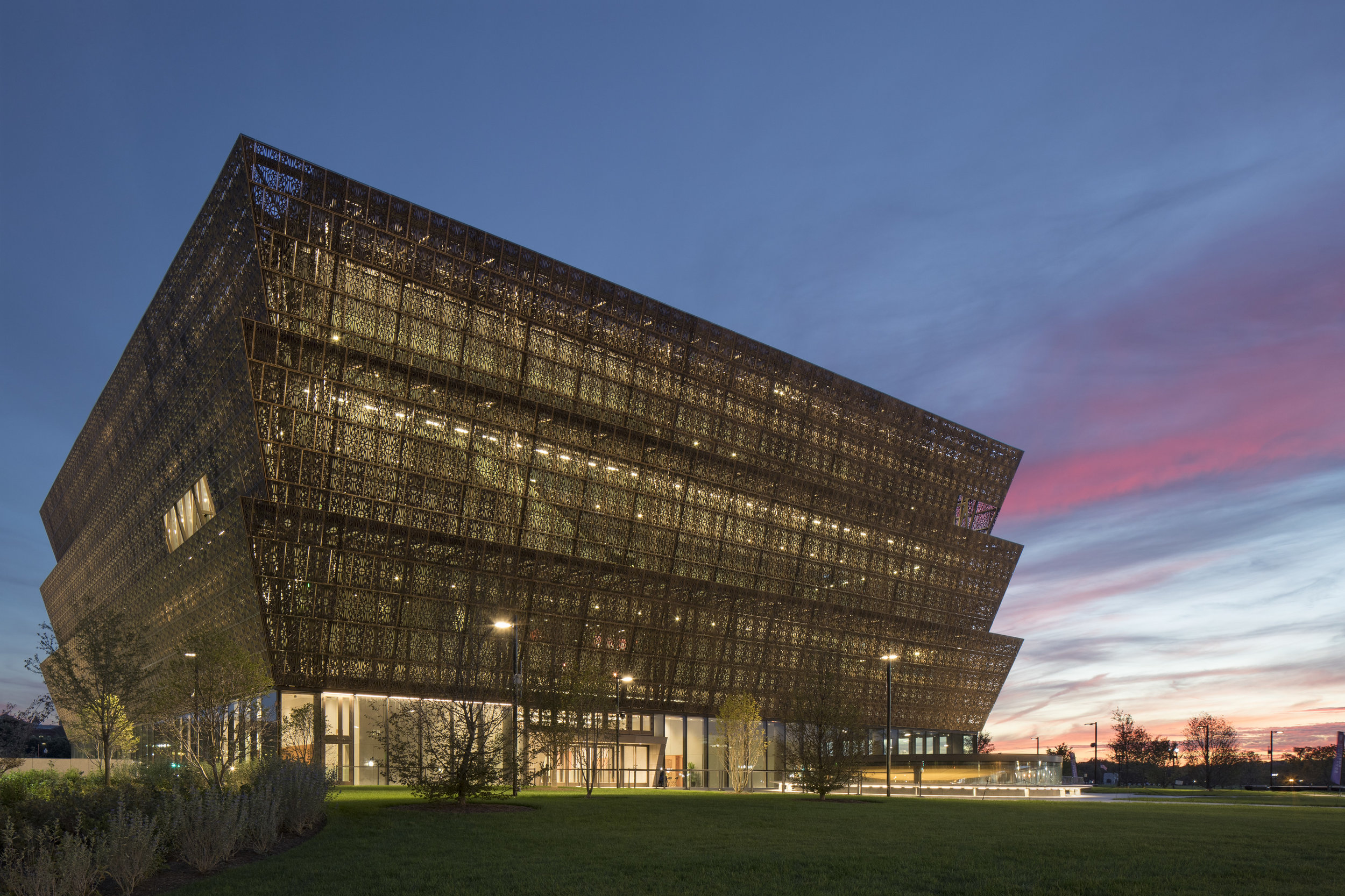 National Museum of African American History and Culture: Building a Legacy of MBE/WBE Capacity While Building a National Treasure in Washington, DC   Clark Construction, along with its joint venture partners, is proud to have built the new National Museum of African American History and Culture (NMAAHC), which was completed in September 2016. In addition to delivering a national museum devoted exclusively to the documentation of African American life, history, and culture, the NMAAC project was a success in terms of small business involvement.   M/WBE Involvement:   - Small Disadvantaged Business - Goal: 22.0% |  Actual: 46.0%  - Women-Owned Small Business - Goal: 10.0% |  Actual: 13.9%