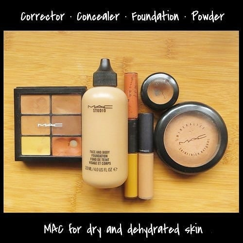 Have used these @maccosmetics base products  for years: • Studio Conceal & Correct Duo • Select Moisturecover • Studio Finish Spf35 Concealer • Studio Face & Body • Mineralize Skinfinish Natural Despite encountering shade issues they are great for dry and/or dehydrated skin. Details on formula, shade and application in my latest post at beautyliterate.com  #mac #dryskin #baseproducts