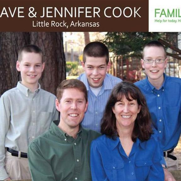 DAVE AND JENNIFER COOK