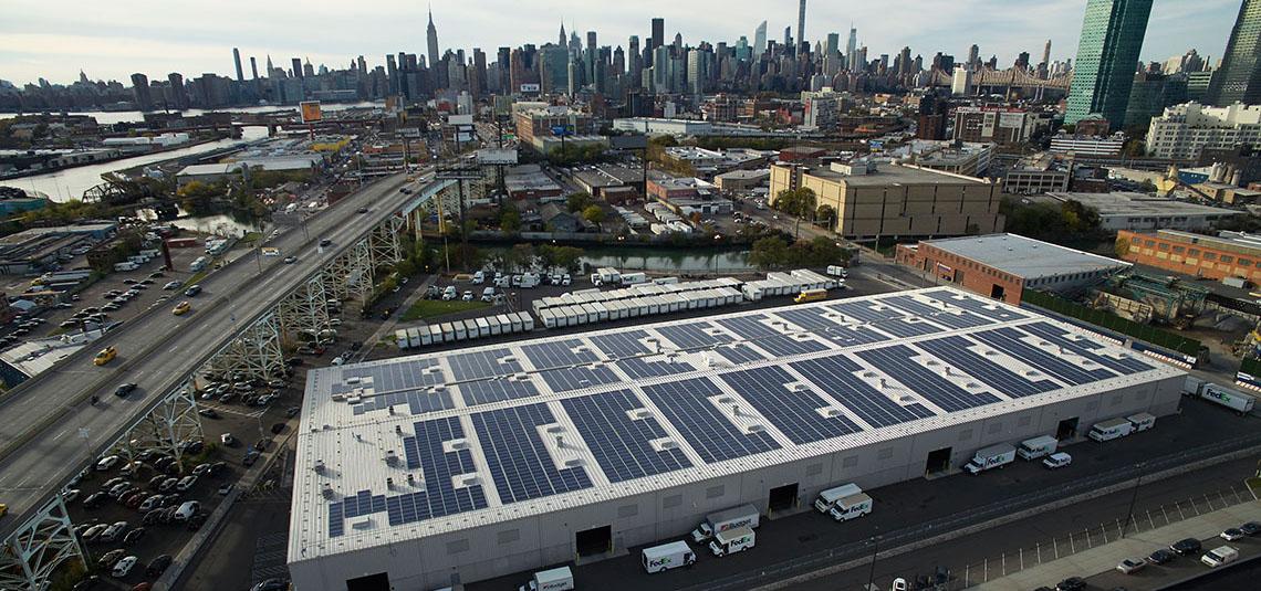 Location: Long Island City, NY System Size: 930 kW