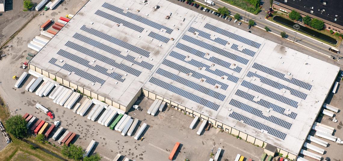 Location: Secaucus, NJ System Size: 850.1 kW