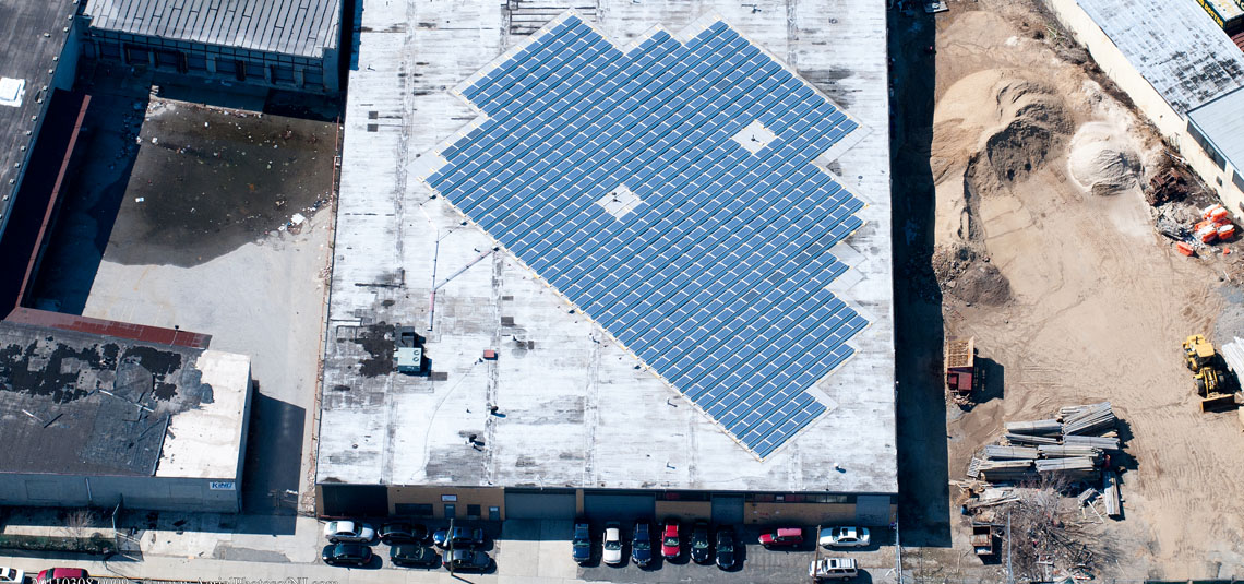 Location: Queens, NY System Size: 125.58 kW