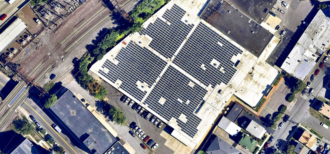 Location: New Rochelle, NY System Size: 415.8 kW