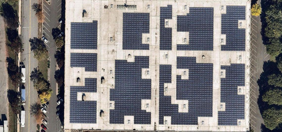 Location: Secaucus, NJ System Size: 634.41 kW