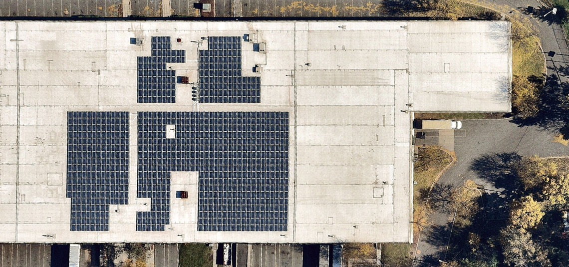 Location: Secaucus, NJ System Size: 309.465 kW