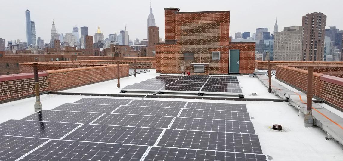 Location: New York, NY System Size: 3,856.8 kW