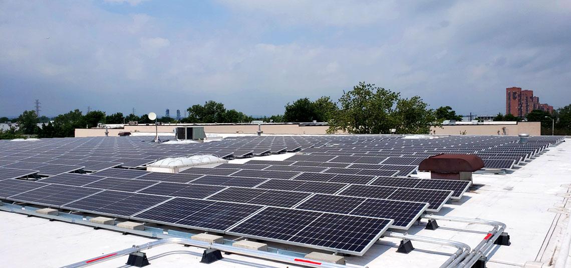 Location: Secaucus, NJ System Size: 575.19 kW