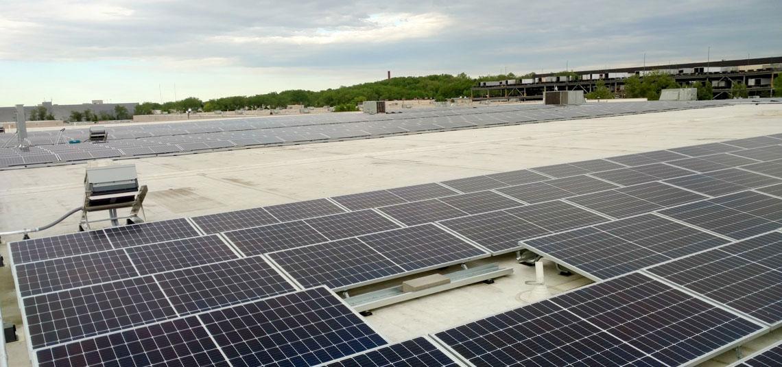 Location: Secaucus, NJ System Size: 360.36 kW