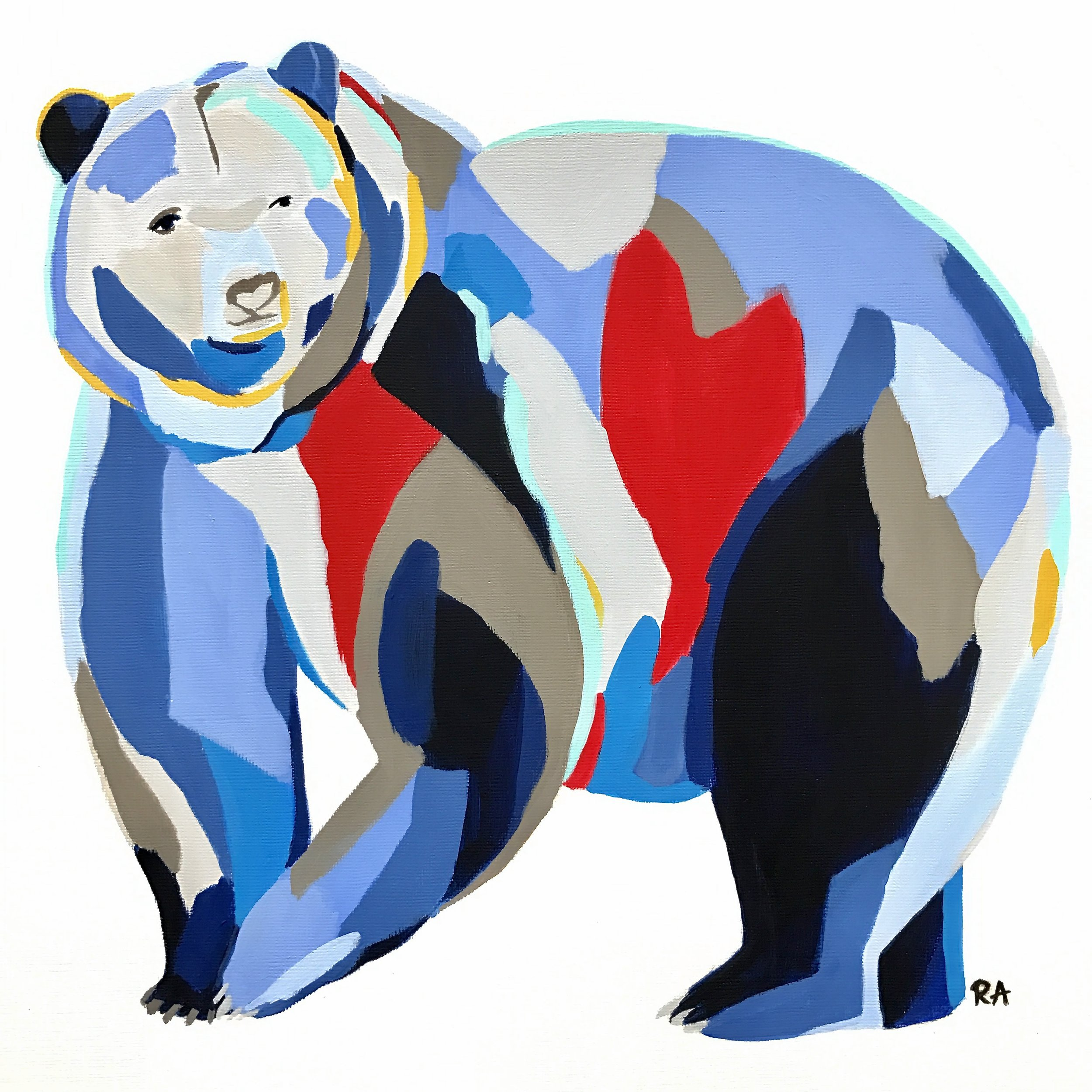 (SOLD) Grizzly Bear, 2017