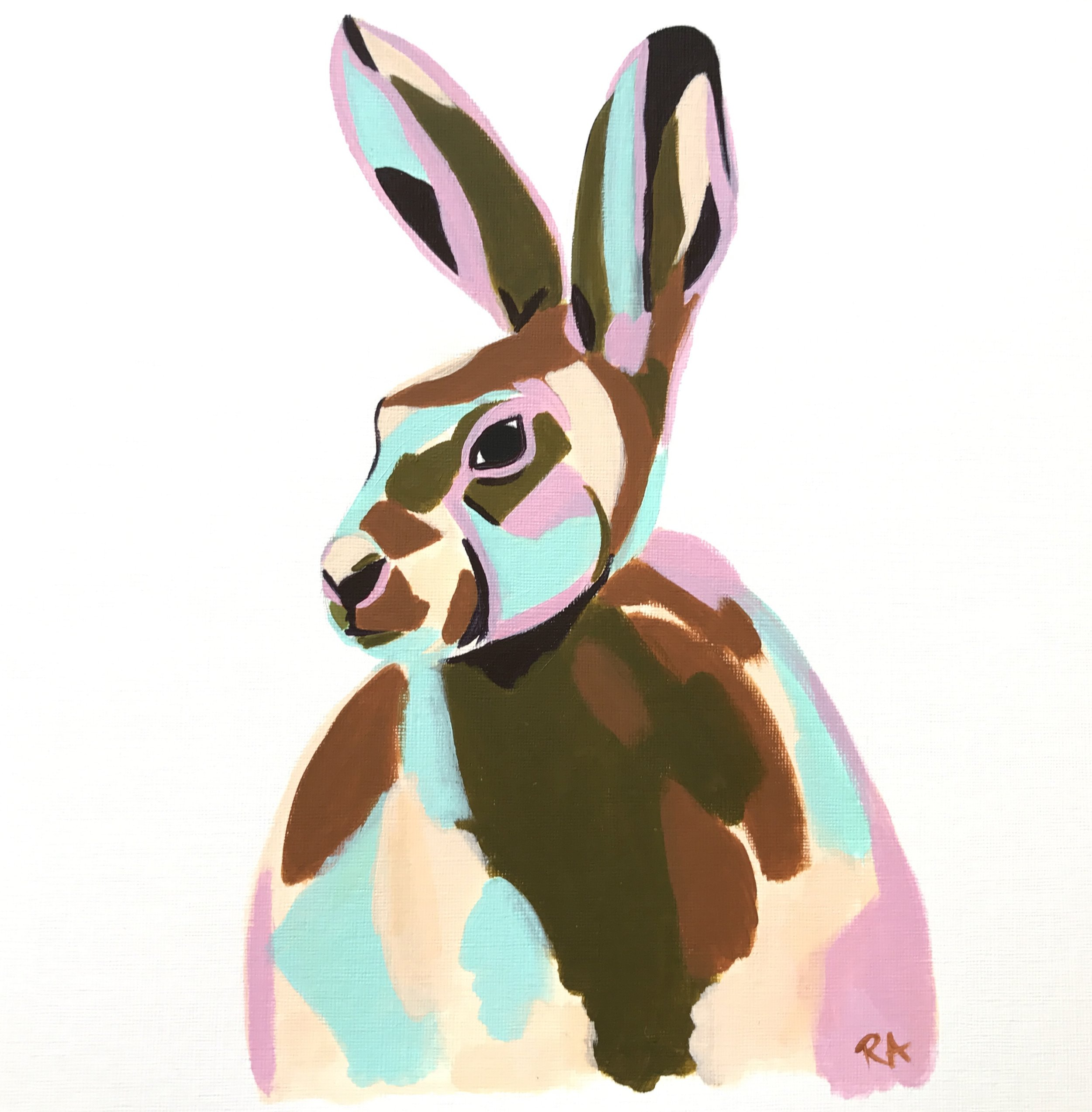 Untitled Hare, 2016