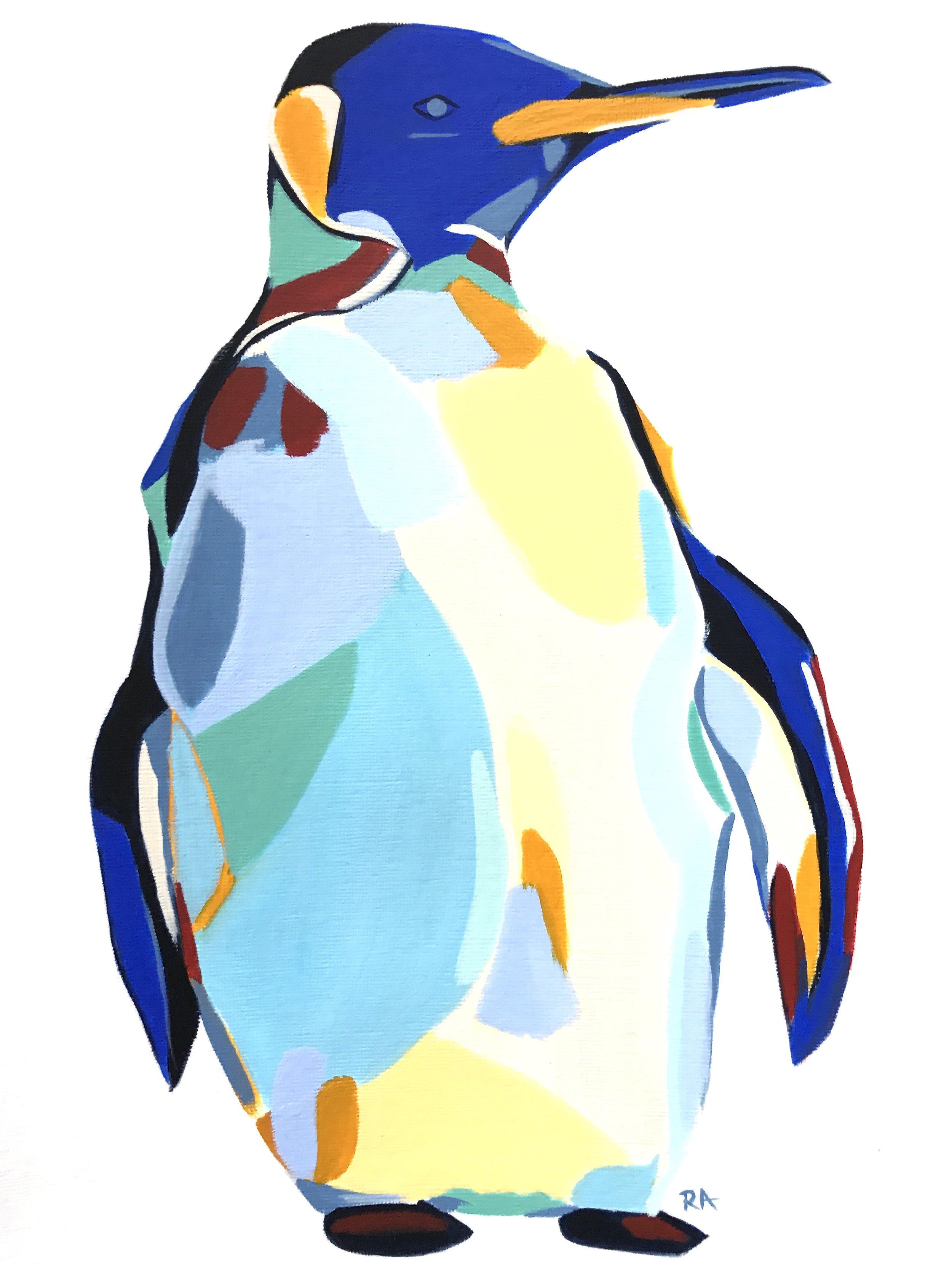 (SOLD) Penguin, 2017