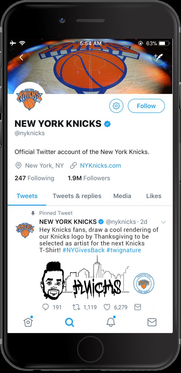 NY KNicks Tweet1.png