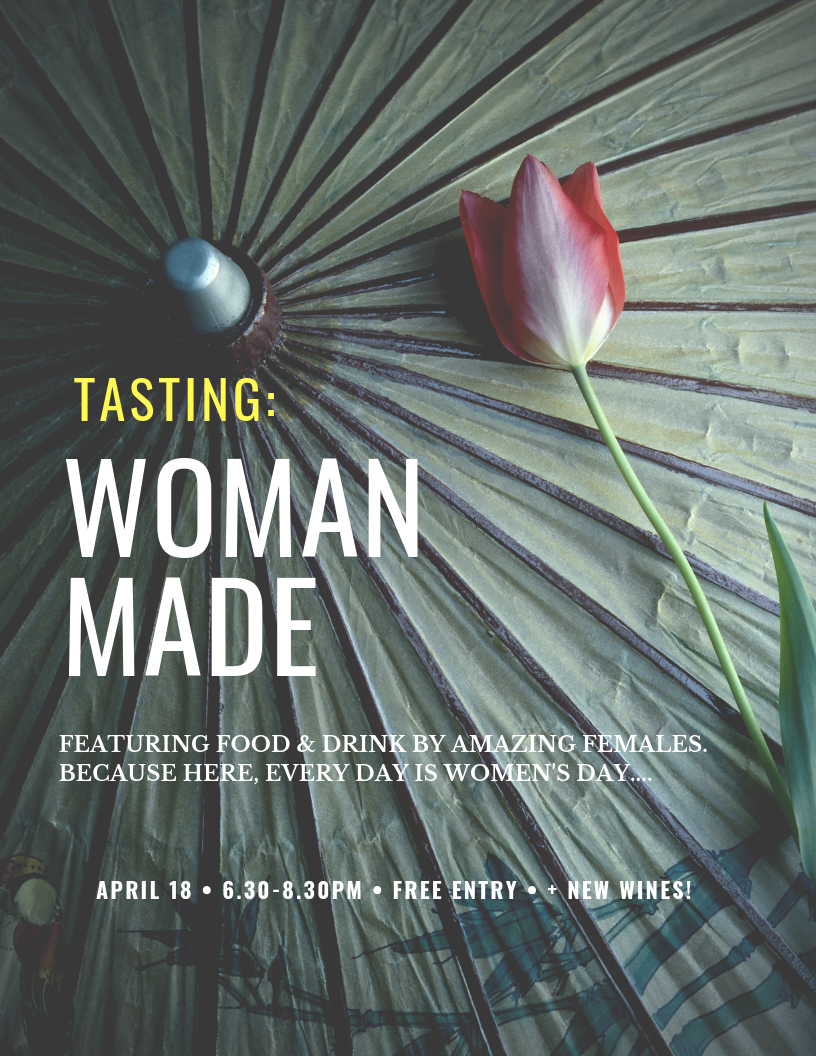 Join us to taste some of our favorite female-made products that we have long supported over at Each Peach. Because, let's be honest, every day should be Women's Day!  We'll also be tasting out some new wines that you'll just love to come and meet. Tasting at Pear Plum. Specials on the products we showcase that night at Each Peach.  Free Entry.