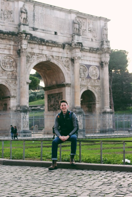 just chilling in Rome