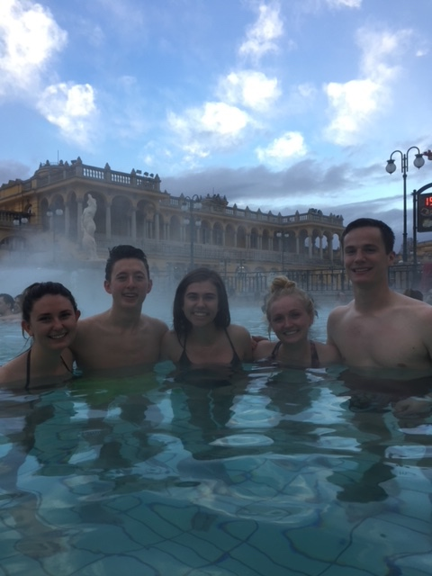 hot springs with friends