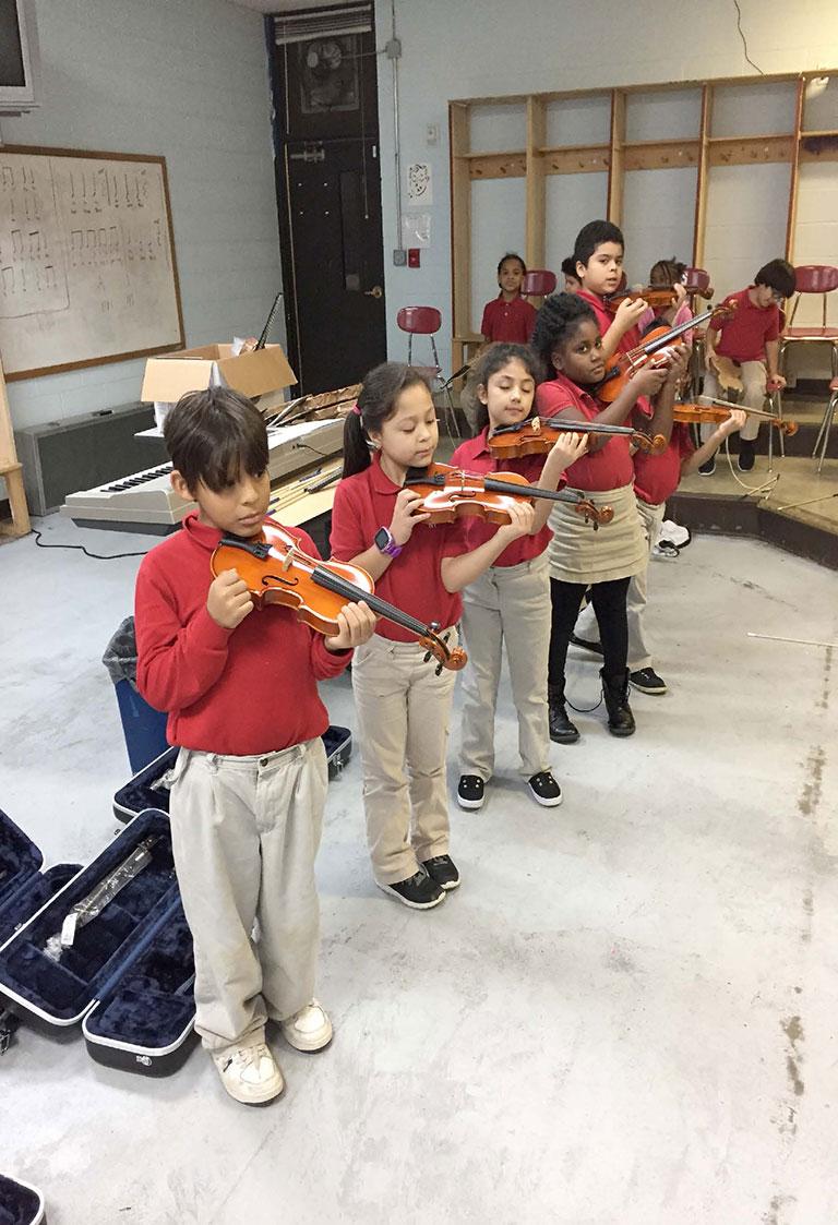 Smithson Craighead Academy - Level 2 Violin Students 2nd Grade