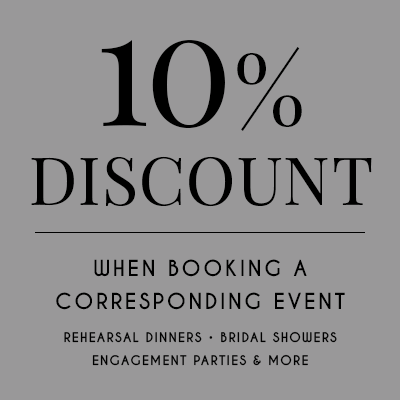 10% Discount When Booking a Corresponding Event