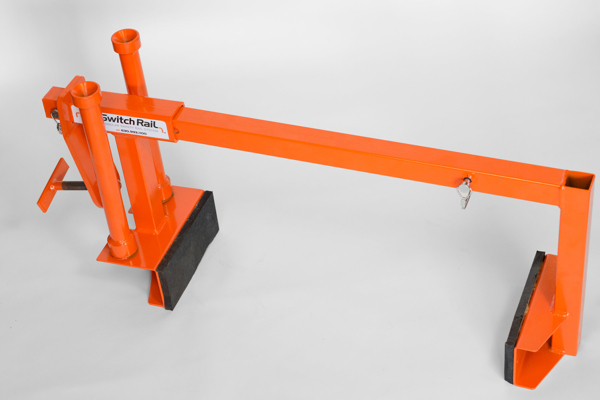 SRPCX - SwitchRail Parapet Clamp w/ Extension