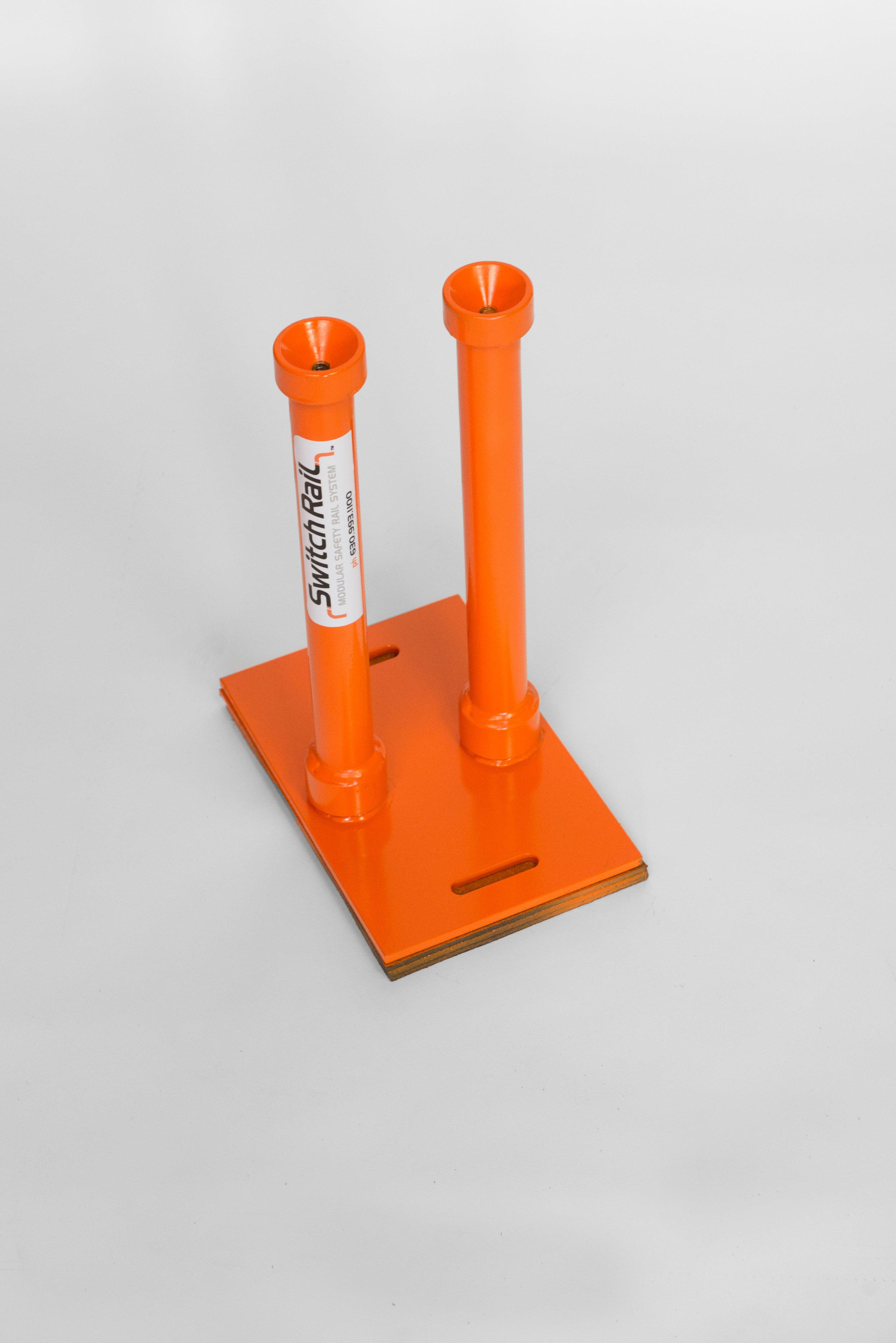 DSCRP - Double Stem Corner Plate
