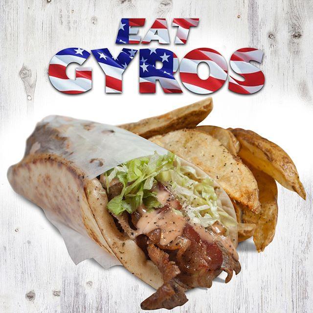 Happy 4th of July from Glory Bound Gyro Co! #EatGyrosBeHappy #EatGyros #ItsALovelyDayForAGyro 🇺🇸🥙