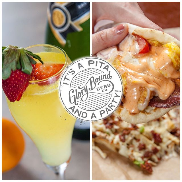BRUNCH w/ us All Day! Every Saturday and Sunday from 10am-Until! $3 Spicy Bloody Marys & Mimosas… and you have to try our Delicious Breakfast Gyros!
