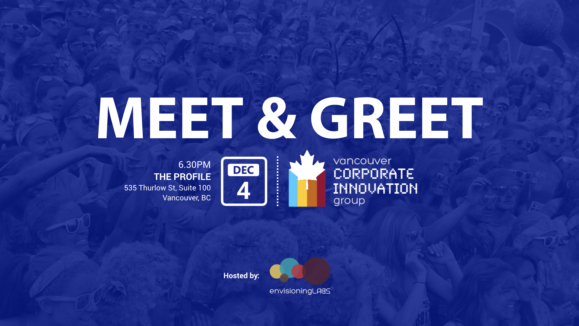 Vancouver Corporate Innovation Group Meet & Greet
