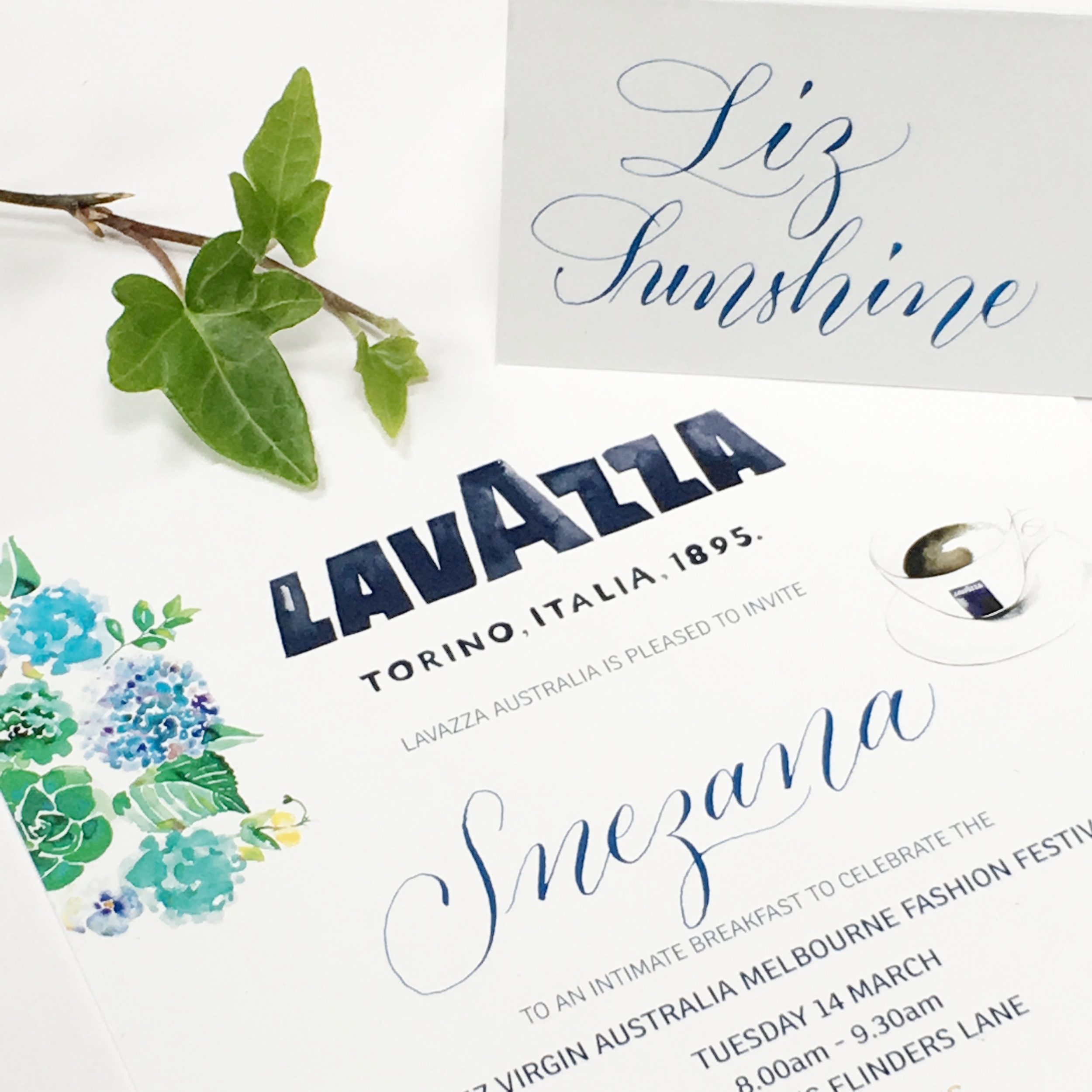 Design in Words Calligraphy & Hand Lettering