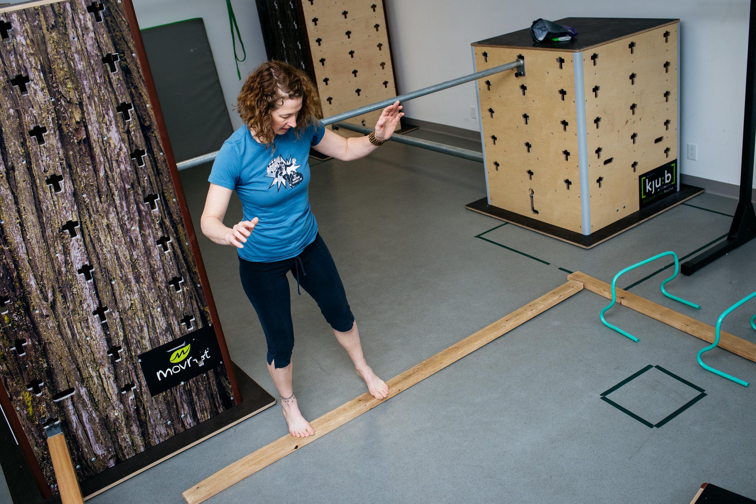 Bonnie MovNat lateral balance MoveTru Albuquerque