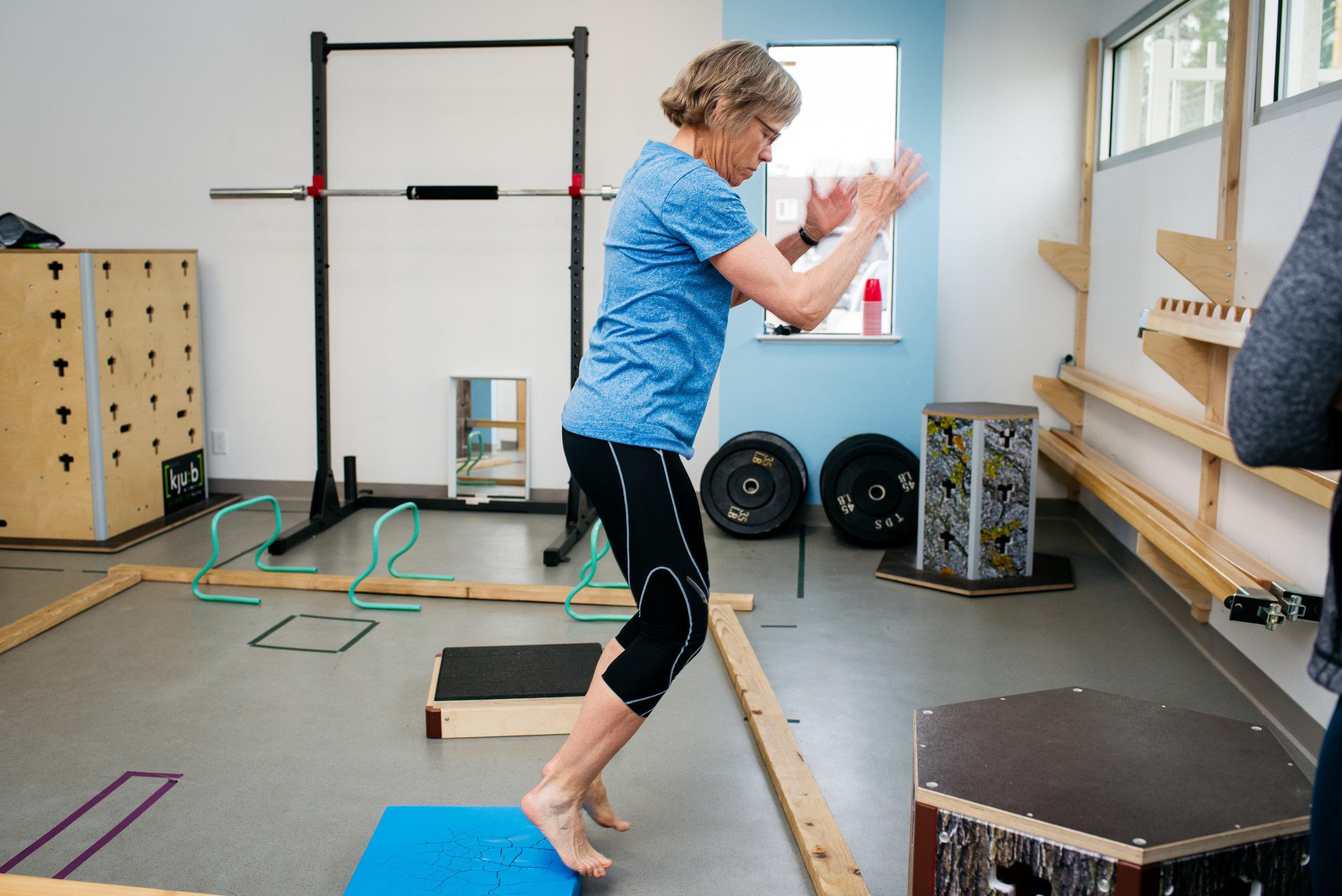 Lynn MovNat precision jump MoveTru Albuquerque