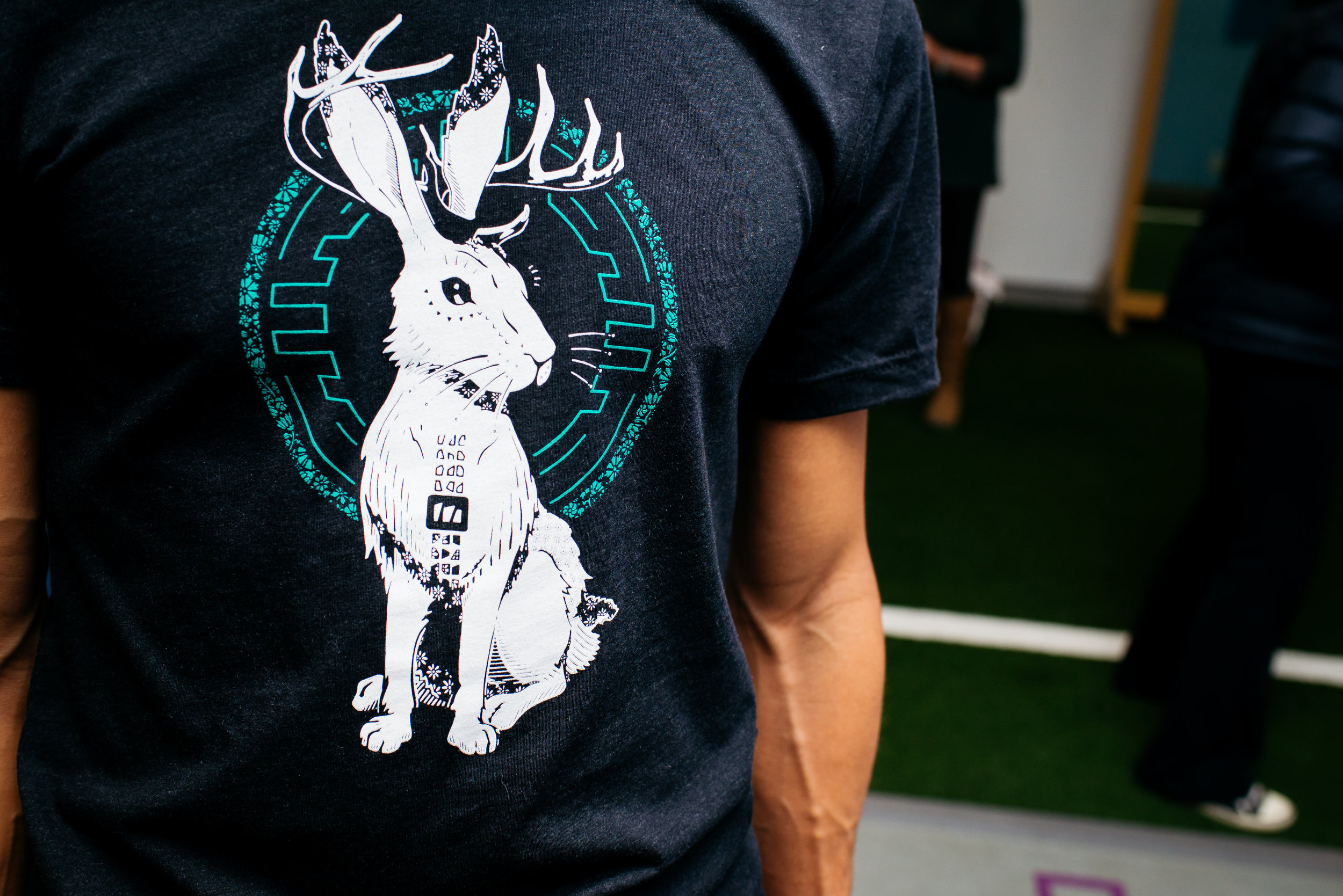 MoveTru T-Shirt Local Art Aaron Stromberg Art