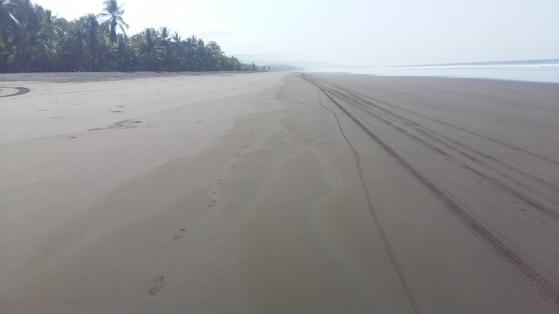 Beach section of the course near Dominical and the start of the 450K course