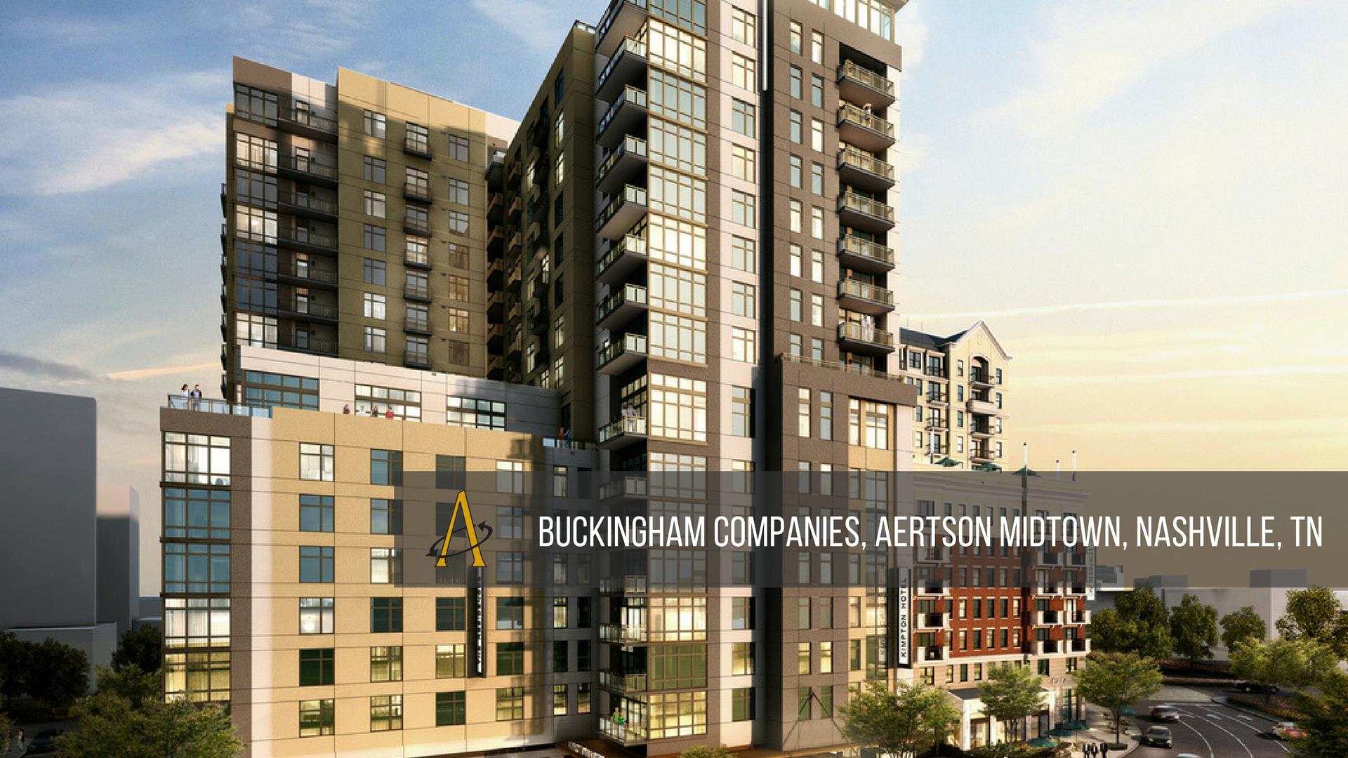 Buckingham Companies, Aertson Midtown, Nashville, TN