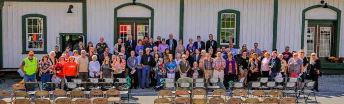 Rural Retreat Grand Opening - October 14, 2017 Dale R. Carlson, Photographer