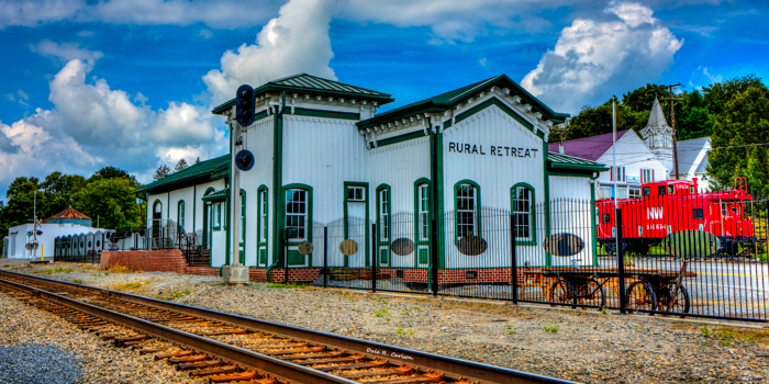 Rural Retreat Depot 2017 by Dale R. Carlson, Bluemoonistic Images Photographer