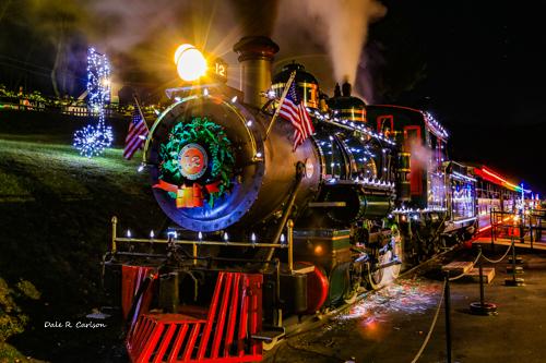 Tweetsie Christmas Train - Photo by Dale R. Carlson