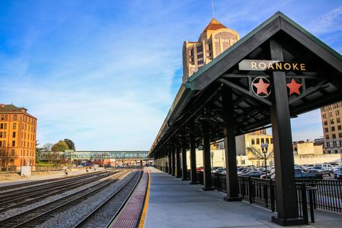 Roanoke Amtrak Boarding Platform - Dale R. Carlson